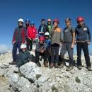 Skupina starejših planincev je osvojila Ojstrico (2350 m)